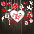 Valentine background — Vector de stock #39365357