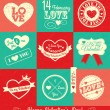 Vector de stock : Valentine background