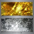 Stock Vector: Metallic texture