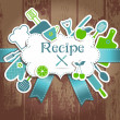 Recipe illustration — Vetorial Stock #40710749