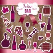 Vecteur: Wine icons