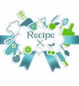 Recipe illustration — Stock Vector