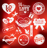 Valentine day — Stockvector