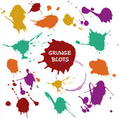 Blots color — Stock Vector