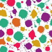 Blots seamless pattern. — Stock Vector