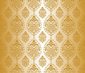 Gold seamless pattern — Stock Vector