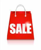 Saco de venda — Vetor de Stock