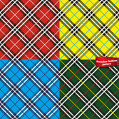 Seamless fabric pattern — Stock Vector