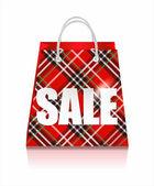 Sale bag — Stock Vector