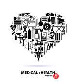 Ensemble médical — Vecteur