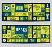 Vektor illustration av brasilien — Stockvektor