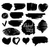 Paint stains design. — Stock Vector
