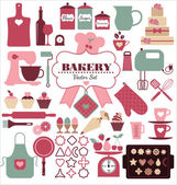 Bakery icons — Stock Vector