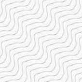 Seamless wave pattern. Vector diagonal lines, black and white texture. — Stock Vector