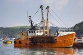 Fishing Boat, Fowey — Foto Stock