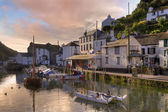Polperro haven — Stockfoto
