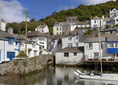 Cottages at Polperro — Stock Photo