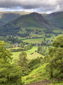 Aerial view of Grasmere — Stock Photo