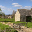 Stock Photo: Cotswold barn