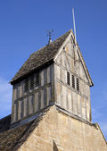 Bell tower, Warwickshire — Stock Photo