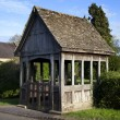 Stock Photo: Lychgate, Warwickshire