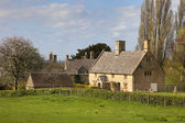 Cotswold cottages — Stock Photo