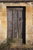 Old Cotswold door — Stock Photo