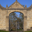 Stock Photo: the gatehouse at chipping campden