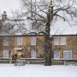 Cotswold house in winter — Stock Photo