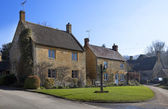 Cotswold houses — Stock Photo