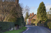 Shropshire village — Stockfoto