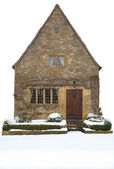 Small Cotswold cottage, England — Foto de Stock