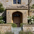 Farmhouse doorway — Stock Photo