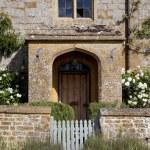 Farmhouse doorway — Stock Photo