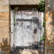 Secret garden door — Stock Photo