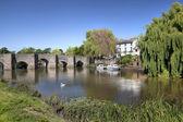 Bidford-on-Avon, Warwickshire — Stock Photo