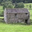 Stock Photo: Yorkshire field barn