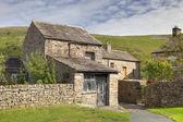 Yorkshire cottage — Stock Photo