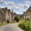 Cotswold village of Hazelton — Stock Photo