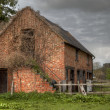 Old ruined stable, England — Stock Photo