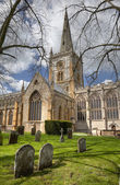 Church at Stratford upon Avon — Foto Stock