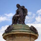 Statue of William Shakespeare — Stock Photo