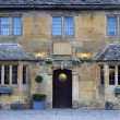 Stock Photo: Cotswold building facade