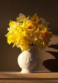 Vase of Daffodils — Stock Photo