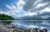 Derwent water, Cumbria — Stock Photo