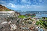 Devon coastline, England — Stock Photo