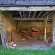 Stock Photo: Traditional farm building