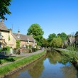 Lower Slaughter — Stock Photo