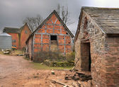 Farm buildings, England — Stock Photo