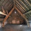 Stock Photo: Cruck constructed Granary